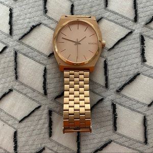 Women's Rose Gold Nixon Watch